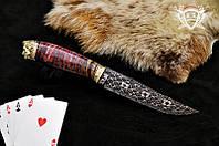 """Нож ручной работы """"Джокер"""""""