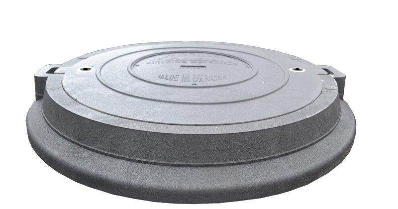 Люк полімерпіщаний важкий Т С50 (25т)