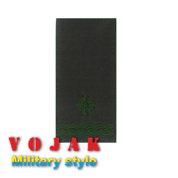 Погон ЗСУ Майор (тк.олива) 10*5см (4015-L)