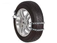 Цепи противоскольжения на колеса, цепи браслеты размер NLE-14, противобуксовочные цепи-хомуты.