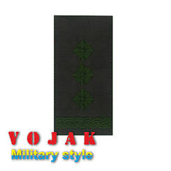 Погон ЗСУ Полковник (тк.олива) 10*5см (4008)