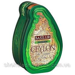 Зеленый чай Basilur, коллекция Чайный остров Цейлон, ж/б 100г