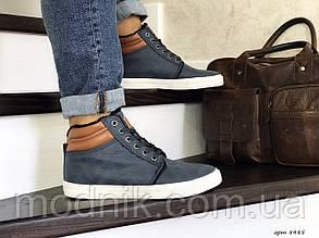 Чоловічі черевики Vintage (сині) ЗИМА