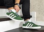Мужские кроссовки Adidas Gazelle (зеленые), фото 3