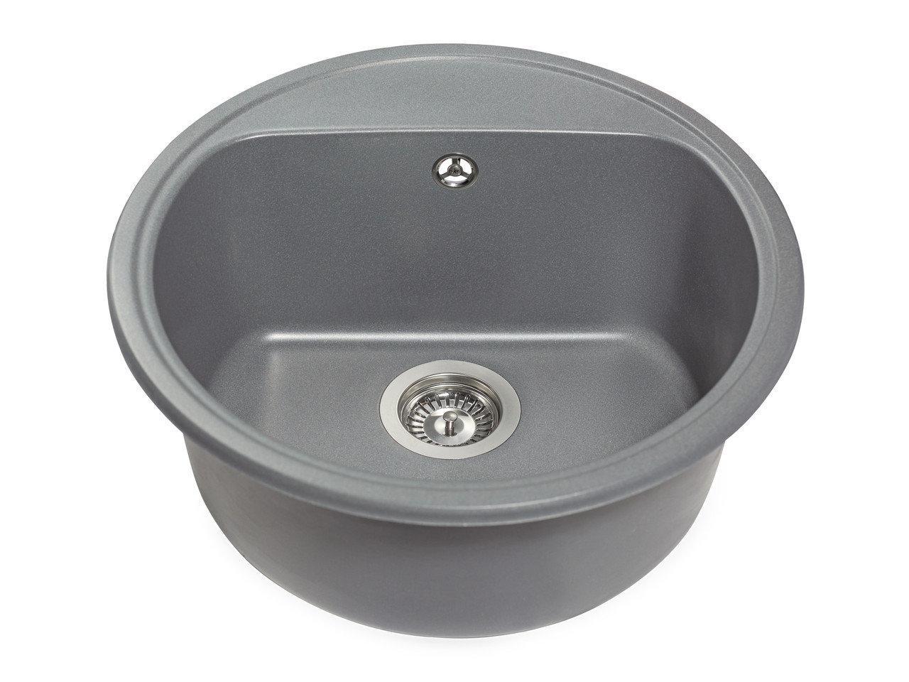 Кухонна мийка Miraggio Malibu Gray