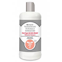 Шампунь Veterinary Formula Hot Spot&Itch Relief Shampoo, антиаллергенный, для собак и кошек, 0,473л 01330