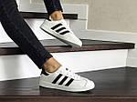 Женские кроссовки Adidas Gazelle (белые), фото 2