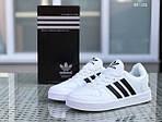Мужские кроссовки Adidas La marque (черно/белые), фото 3