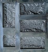 """Форма для декоративного каменю і плитки """"Цокольна"""" (13.5 форм в комплекті), фото 9"""