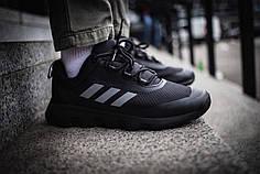 Мужские кроссовки Adidas Climaproof Black ( Реплика ) Остался 45 размер