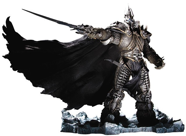 Фигурка Варкрафт Артас Менетил Король-лич - Lich King, World of Warcraft, Deluxe