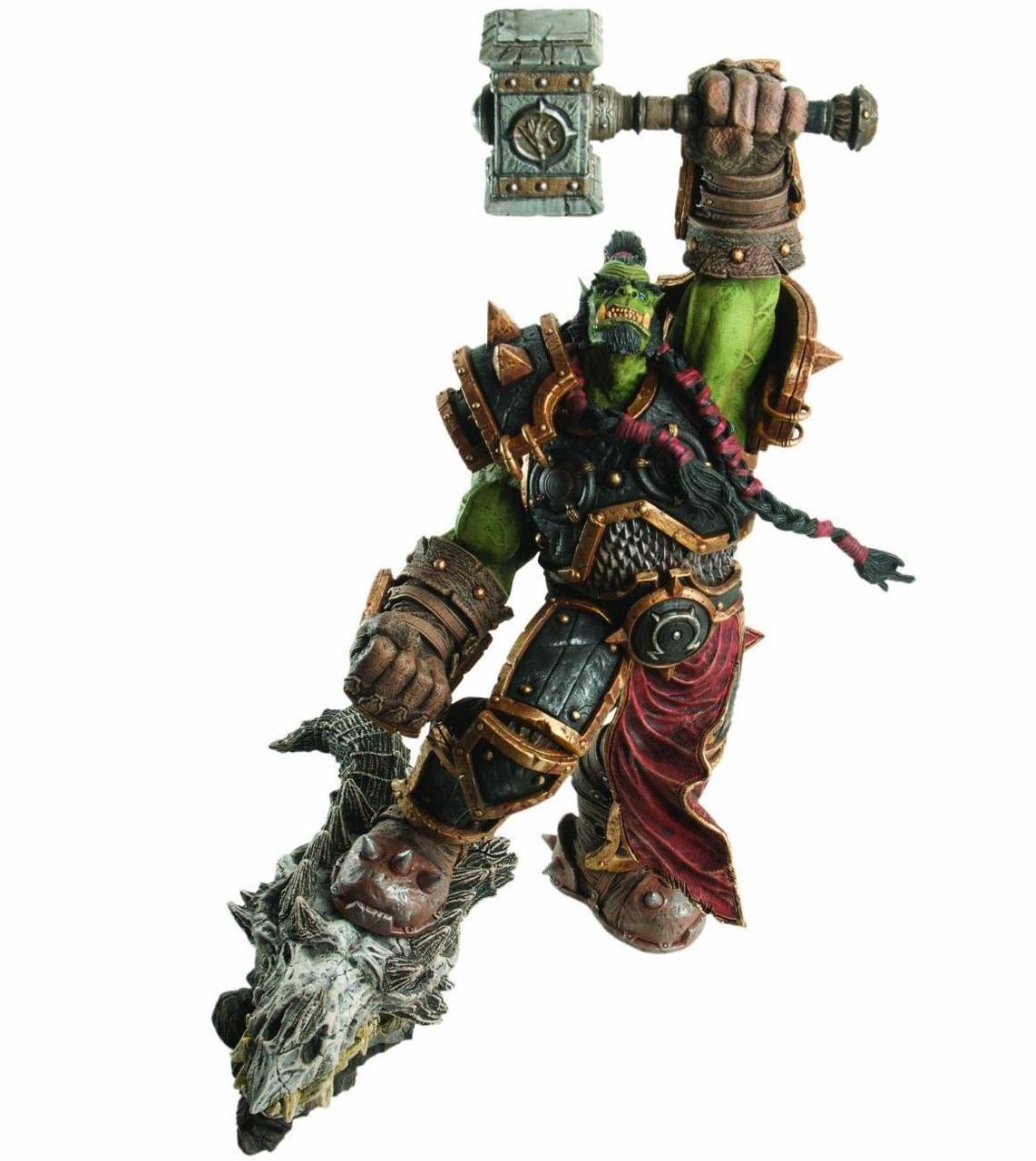 Фигурка Орк Тралл Варкрафт - Orc Thrall, Warcraft, Premium Series