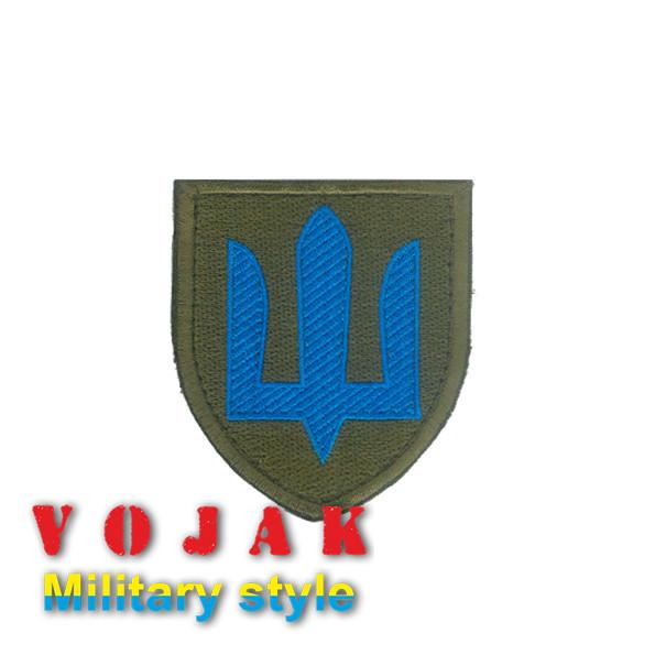 """Шеврон тризуб """"Механизированные войска"""""""