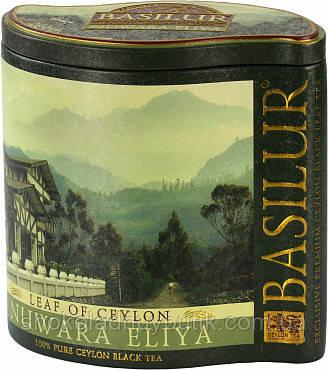 Черный чай Basilur Нувара Элия, коллекция Лист Цейлона, ж/б 100г