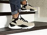 Мужские кроссовки Adidas Y-3 Kaiwa (бежевые), фото 2