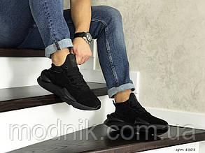 Чоловічі кросівки Adidas Y-3 Kaiwa (чорні)