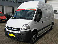 Пороги с листом (площадка) Renault Master TAMSAN65GN