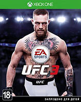 UFC 3 XBox One (С русскими субтитрами)