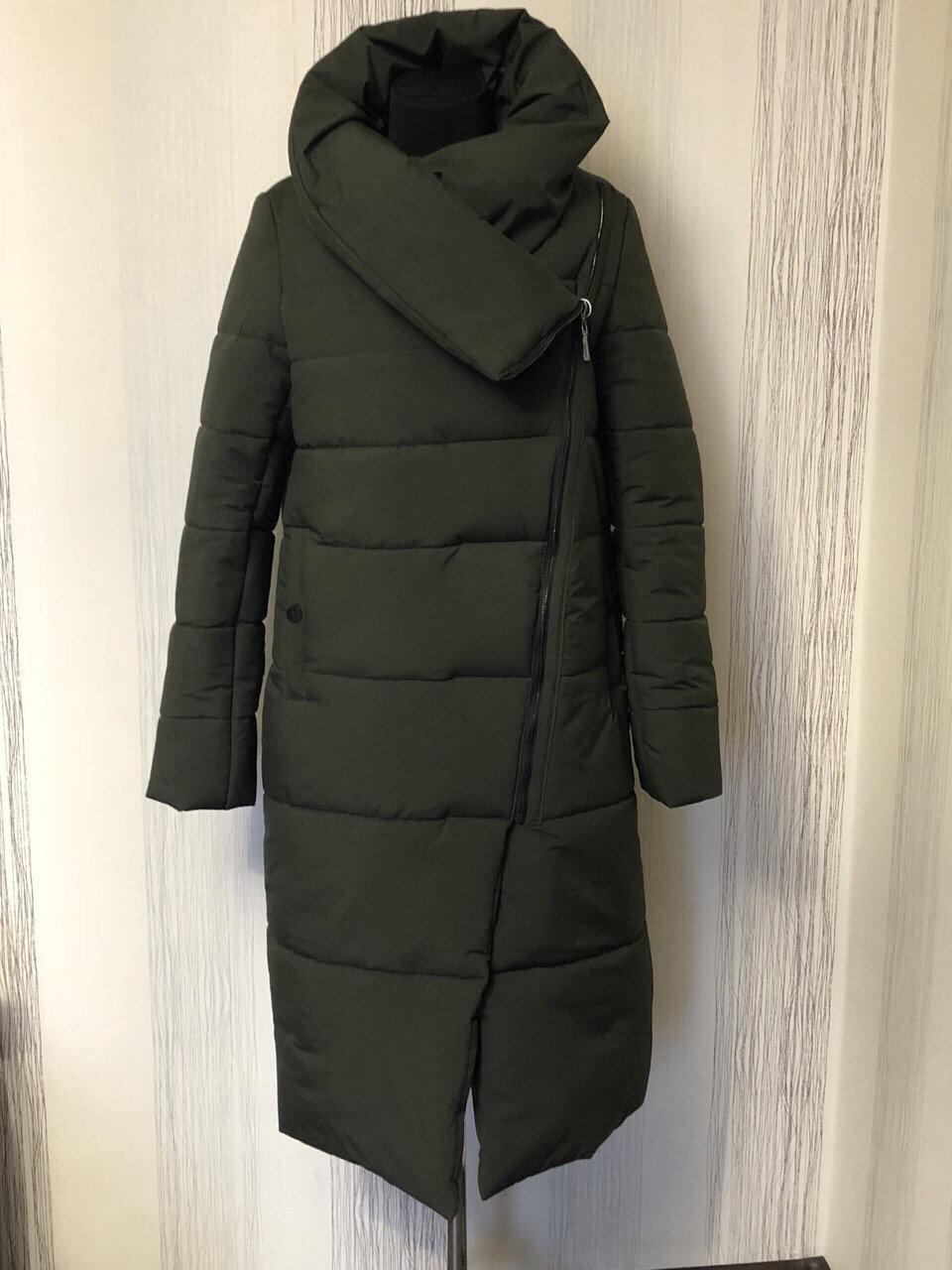 Зимний женский пуховик - одеяло