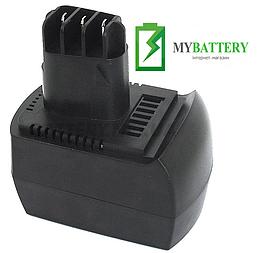 Аккумулятор для шуруповерта Metabo BS 12 SP 3000 mAh 12 V черный