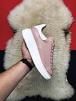 Alexander McQueen Pink White
