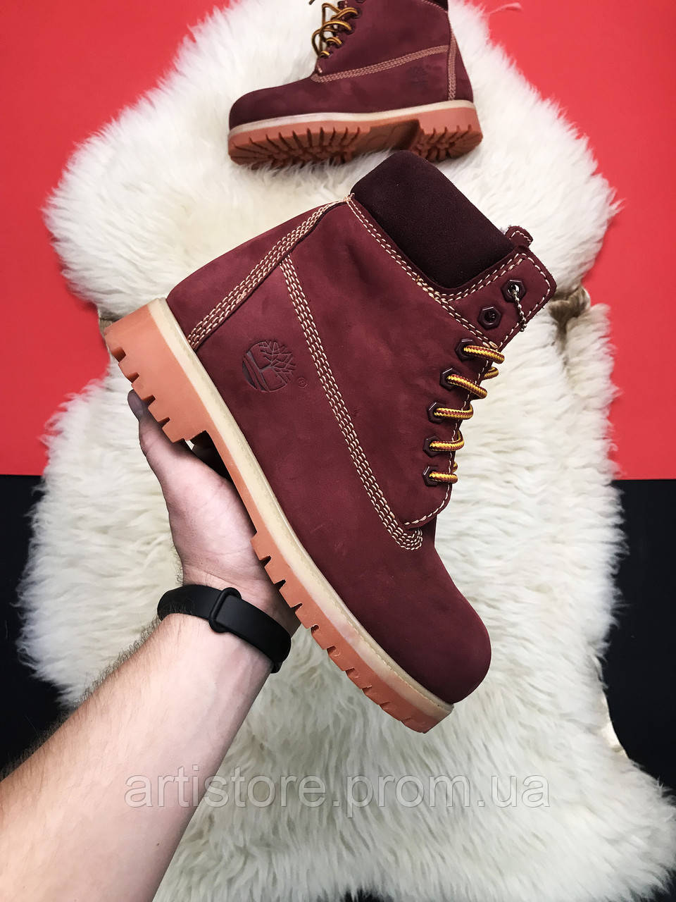Timberland Bordo Fure Premium
