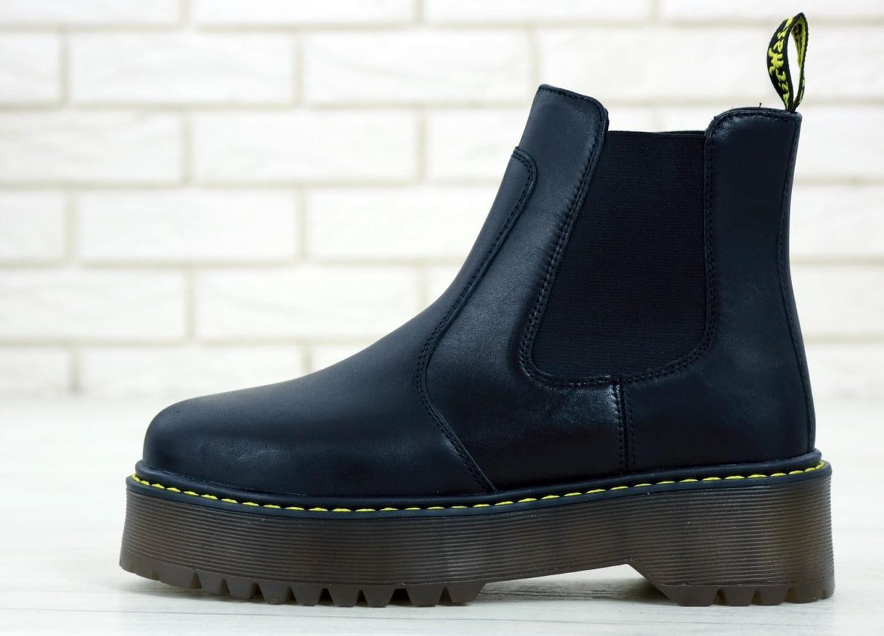 Женские ботинки Dr.Martens PLATFORM CHELSEA Black
