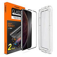 Защитное стекло Spigen Full cover для iPhone XS Max/11 Pro Max