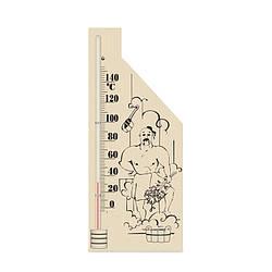 Термометр для лазні, сауни - Богатир