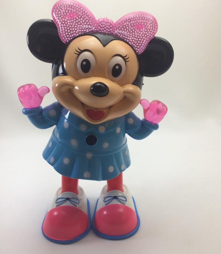 Интерактивная игрушка танцующая Minnie Mouse Music Dance мини маус