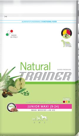 Сухой корм Trainer Natural корм для юниоров крупных и гигантских пород 3 КГ