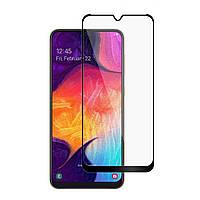 Защитное стекло LUX для Samsung Galaxy A10s (A107) Full Сover черный 0,3 мм в упаковке