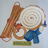 Детский набор для шведской стенки «ЭЛИТ» с тарзанкой, фото 1