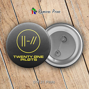 Значок Twenty One Pilots 018