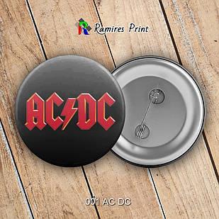 Значок AC DC 001
