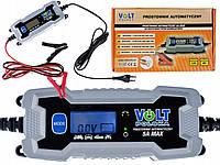 Универсальное зарядное устройство для аккумуляторов VOLT POLSKA 6/12V 5A LCD, фото 1