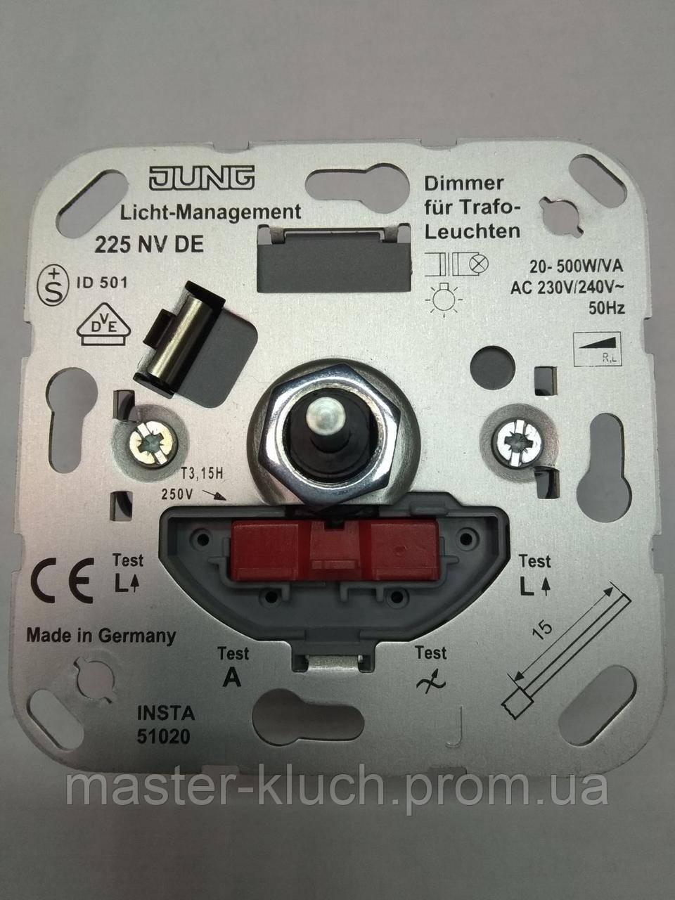Диммер роторный  20 - 500 Вт/ВА Jung 225 NVDE механизм