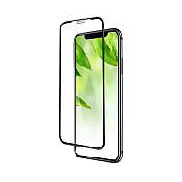 Захисне скло 5D (Full Glue) Apple iPhone 11 Pro Max Черный