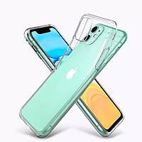 Силиконовый чехол Apple iPhone 11 Прозрачный