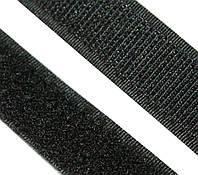 Липучка 1,5см., цвет-черный. Цена за 10см.
