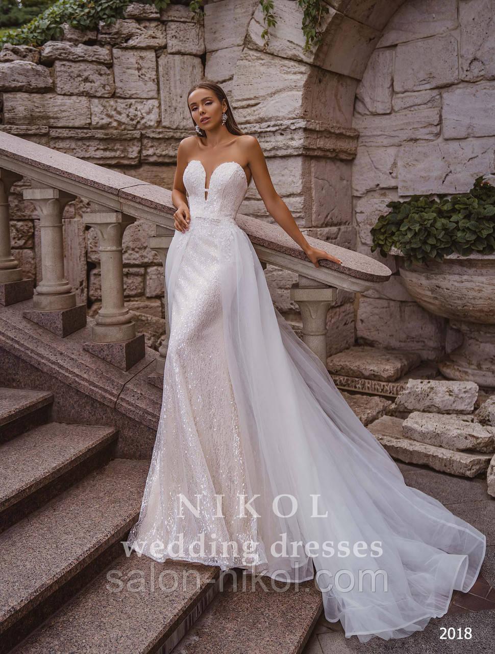 Свадебное платье № 2018