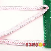 Тесьма самоса 1,8см.(цвет: светло-розовый), цена за 1 метр