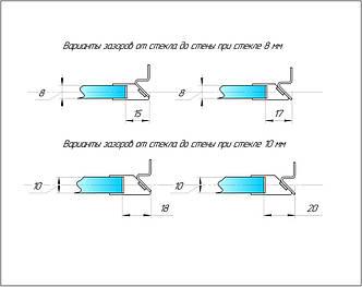 Комплект ОПМ сатин з магнітним ущільнювачем і монтажним комплектом