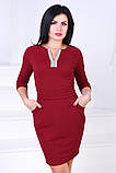 Женское нарядное платье,ткань креп-дайвинг,размеры:44,46., фото 2