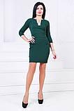 Женское нарядное платье,ткань креп-дайвинг,размеры:44,46., фото 3