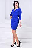 Женское нарядное платье,ткань креп-дайвинг,размеры:44,46., фото 5