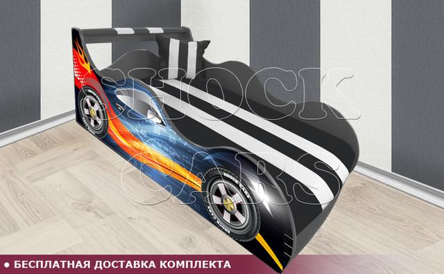 Кровать машина ШОКИТА  ШОК с матрасом в комплекте купить киев украина