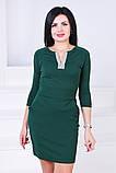 Женское нарядное платье,ткань креп-дайвинг,размеры:44,46., фото 7