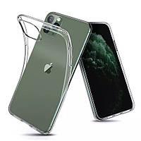 Прозрачный силиконовый чехол Apple iPhone 11 Pro