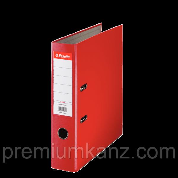 Папка-регистратор Эко A4, 75 мм, цвет красный ESSELTE